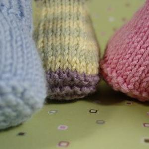 Sweet Little Booties, Two Needle Ve..